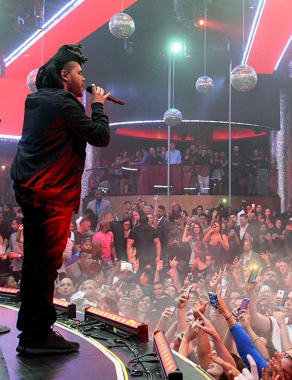 The Weeknd Performs his Las Vegas Residency at Drai's Beachclub • Nightclub atop The Cromwell