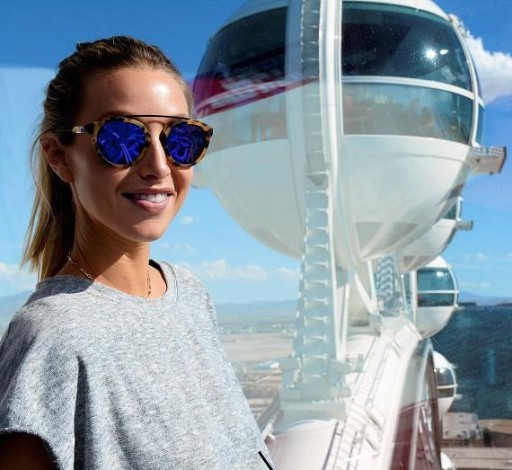 Whitney Port Celebrates Bachelorette Weekend in Las Vegas