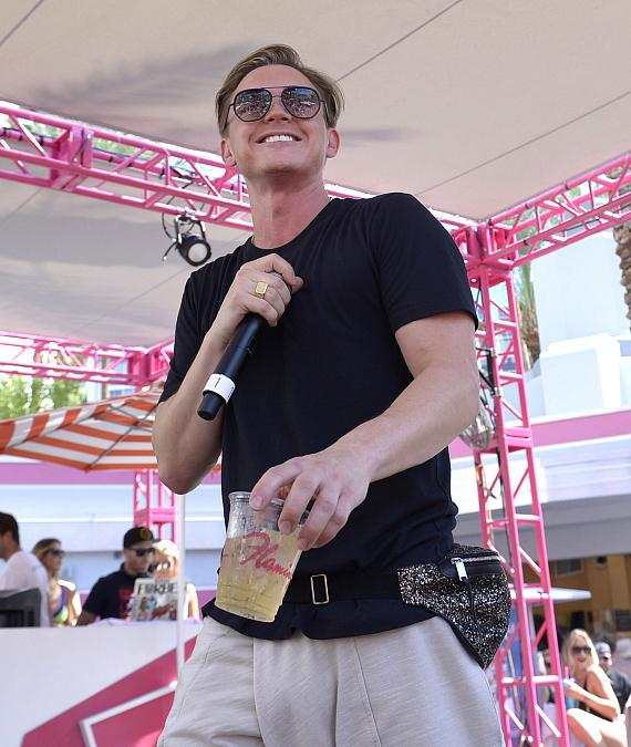 Jesse McCartney Performs at Flamingo Las Vegas' GO Pool Dayclub