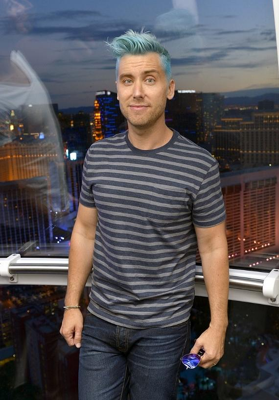 Lance Bass in the High Roller at The LINQ in Las Vegas