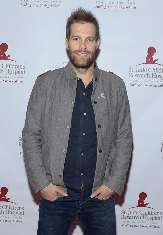 Actor Geoff Stults
