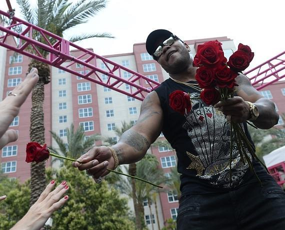 Flo Rida Thrills Fans with Poolside Performance at The Flamingo GO Pool in Las Vegas