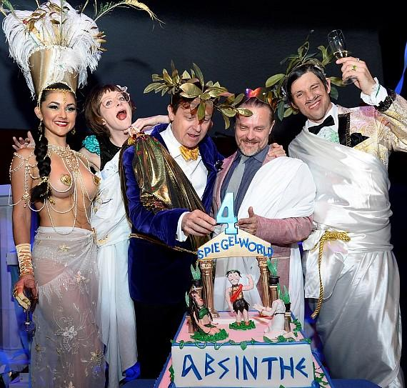 Absinthe Celebrates Four-Year Annniversary with a Toga Party