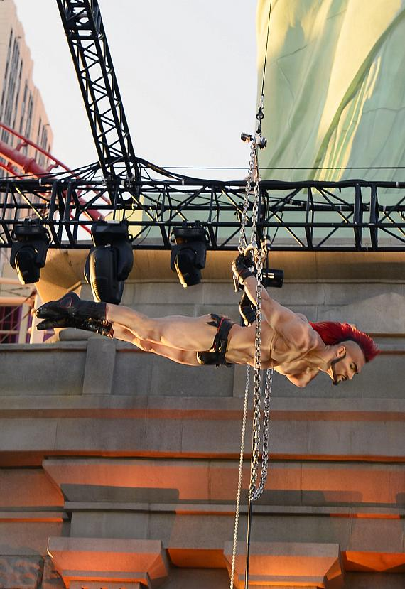 Zumanity by Cirque Du Soleil Invigorates The Strip with Tantilizing Outdoor Performance at New York-New York