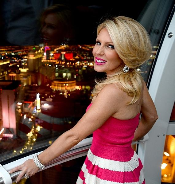Gretchen Rossi inside the Las Vegas High Roller