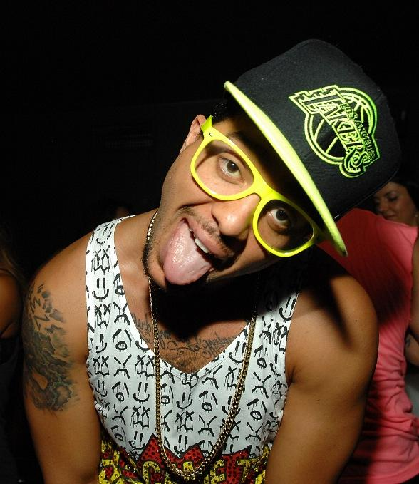 "Sky Blu of LMFAO Kicks Off ""Who Came to Party?"" Residency at The Bank"