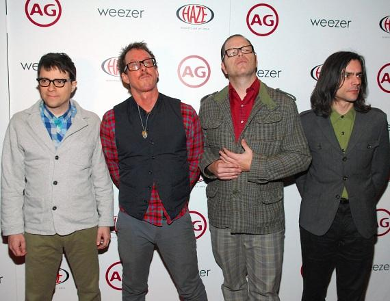 Weezer at Haze Nightclub in Las Vegas