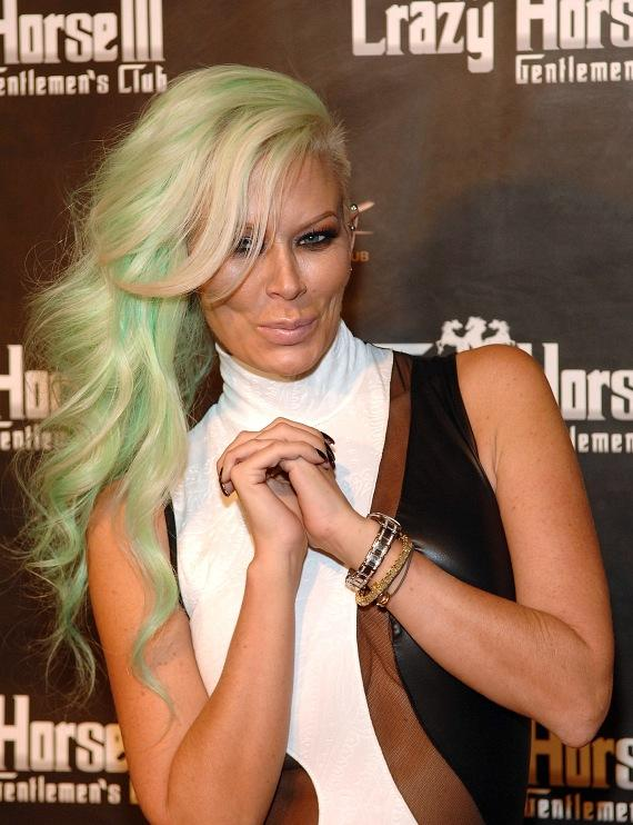 Jenna Jameson on red carpet at Crazy Horse III