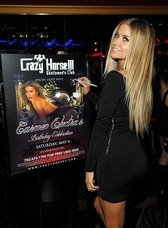 Iconic Bombshell Carmen Electra Celebrates Birthday at Crazy Horse III