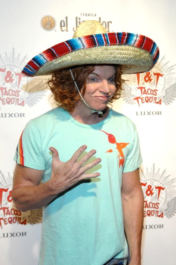 Luxor headliner Carrot Top at Tacos & Tequila