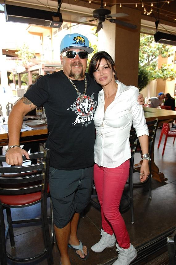 Guy Fieri with Chef Carla Pellegrino