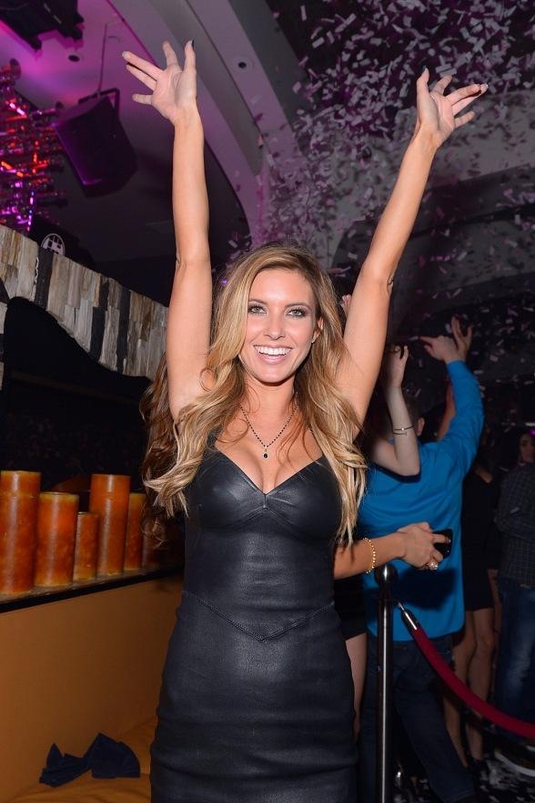 Audrina Patridge Hosts at Hyde Bellagio, Las Vegas