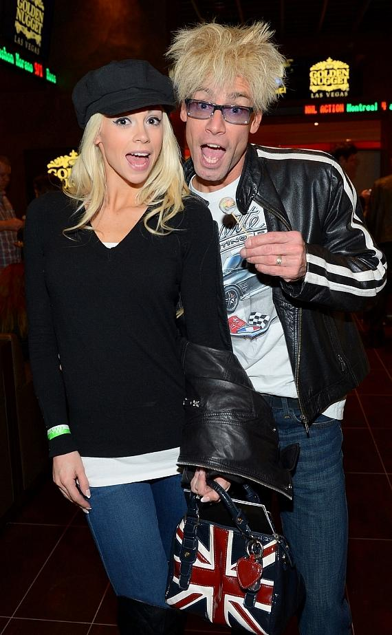 Tropicana headliner Murray SawChuck (and Pawn Stars' magic expert) and his wife Chloe Crawford, a featured dancer at FANTASY and Playboy's new Cyber Girl