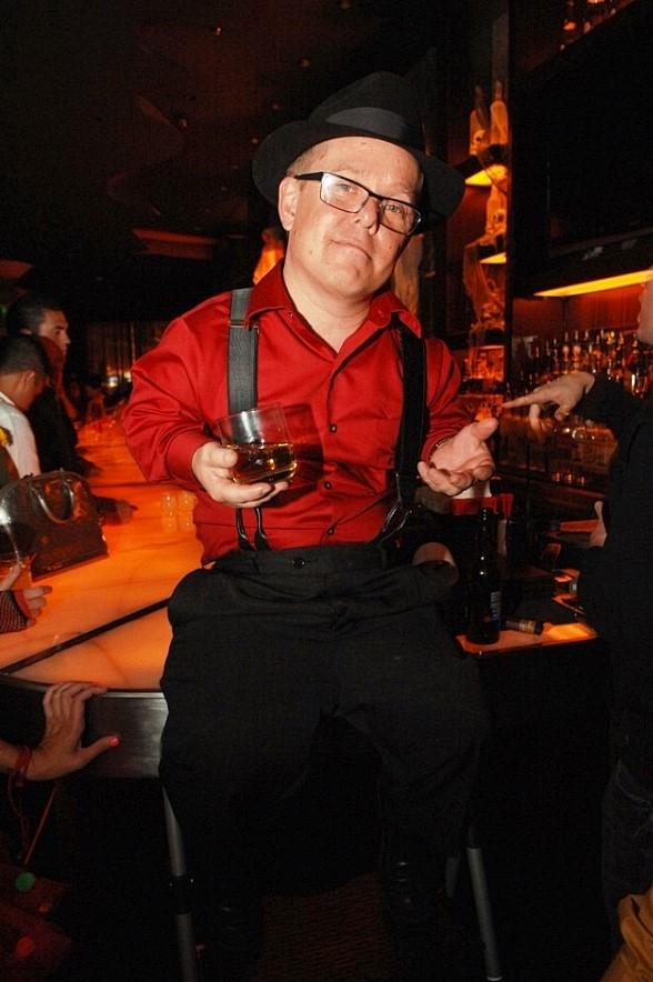 "Shorty Rossi of ""Pit Boss"" at Blush Boutique Nightclub in Las Vegas"