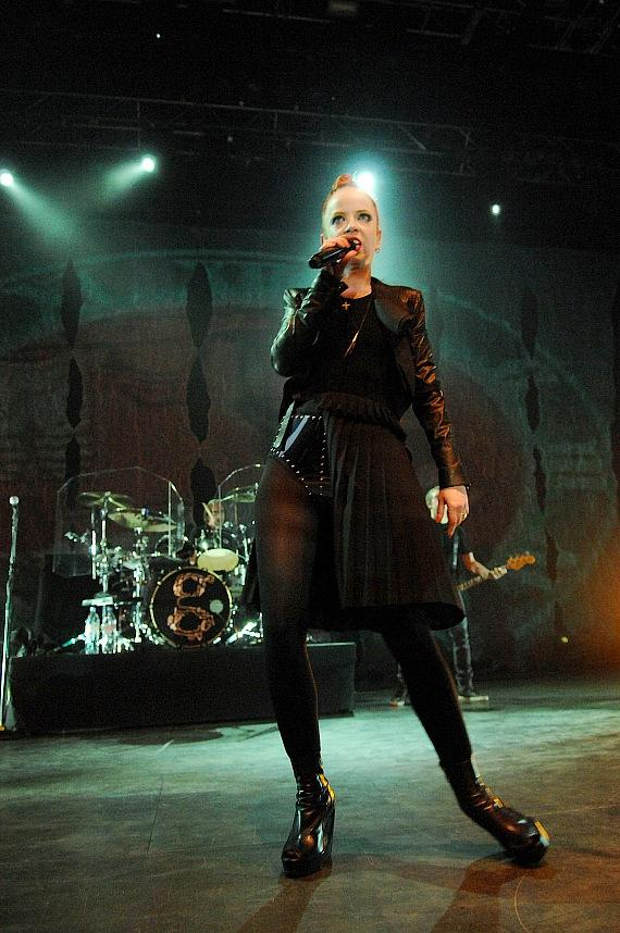 Garbage performs at The Pearl at Palms Casino Resort in Las Vegas