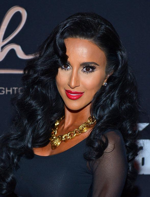 "Bravo's ""Shahs of Sunset"" star Lilly Ghalichi parties at Posh Boutique Nightclub in Las Vegas"