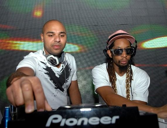 Sidney Samson and LiL Jon at Surrender Nightclub