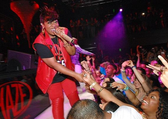 Missy Elliott at HAZE Nightclub at ARIA