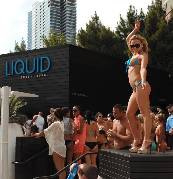 Grand Opening of LIQUID Pool Lounge at ARIA