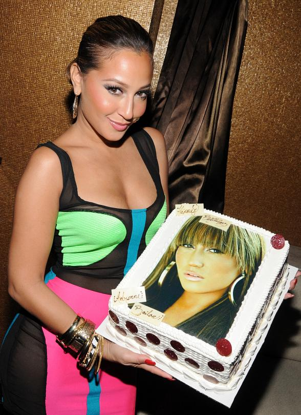 Adrienne Bailon Celebrates Birthday at Hard Rock Hotel & Casino Las Vegas