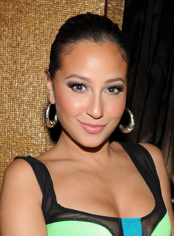Adrienne Bailon at Vanity Nightclub