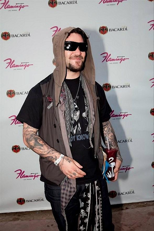 Bam Margera at GO Pool