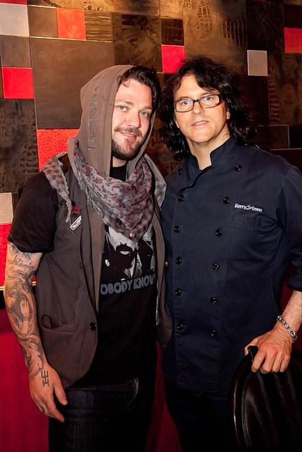 Bam Margera and Kerry Simon