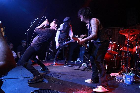 L.A. Guns perform at Wasted Space