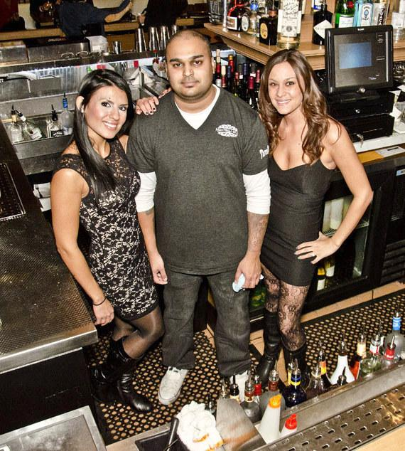 Bar crew at Meatball Spot in Town Center Las Vegas