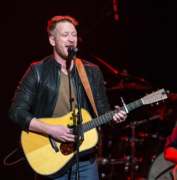 "Barrett Baber, season nine finalist of NBC's ""The Voice,"" opened up for Rascal Flatts"