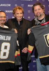 Barry Manilow Receives a Vegas Golden Knights Jersey at Westgate Las Vegas Resort & Casino