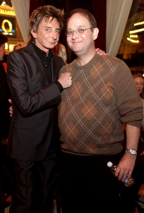 Barry Manilow and Marc Cherry
