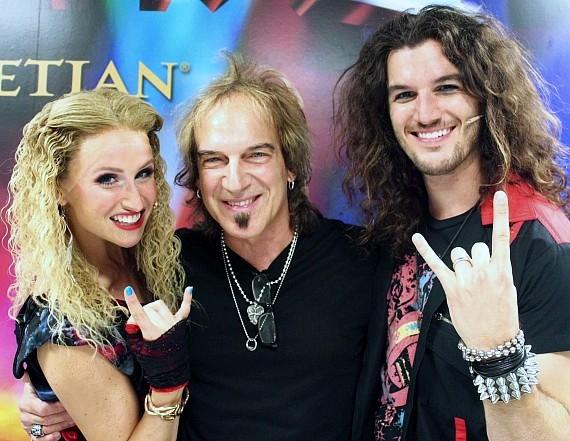 Becca Kotte and Rustin Cole Sailors with Dave Amato