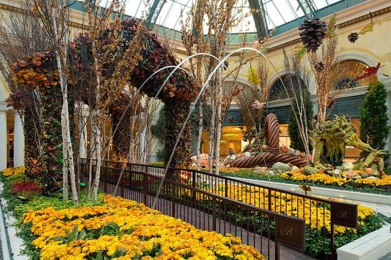 Bellagio Conservatory Walkway and Harvest
