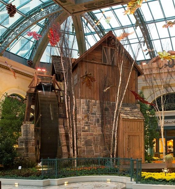 Bellagio Conservatory Watermill