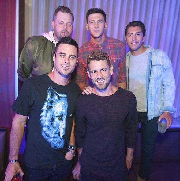 Bachelor Heartthrobs Ben Higgins, Blake Horstmann, Jason Tartick and Nick Viall Party at Hyde Bellagio in Las Vegas
