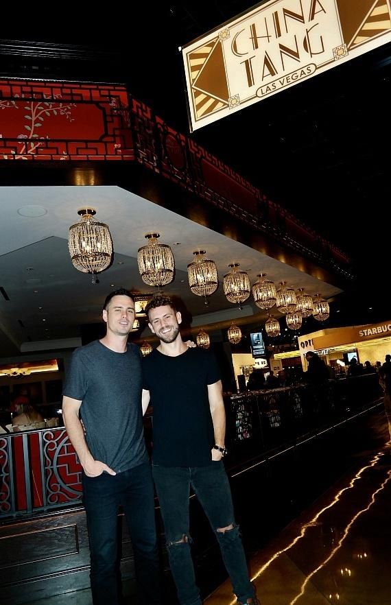 Ben Higgins and Nick Viall Dine at China Tang inside MGM Grand