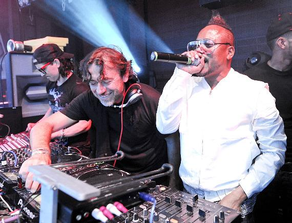 Benny Benassi and apl.de.ap at Marquee