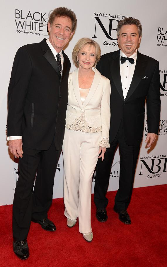 Former Brady Bunch stars Berry Williams, Florence Henderson and Christopher Knight