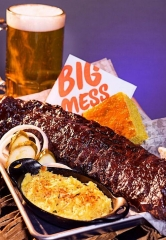 Big Mess Bar-BQ, a Genuine Smokehouse Barbeque Restaurant, is now open at Sam's Town Hotel and Gambling Hall in Las Vegas