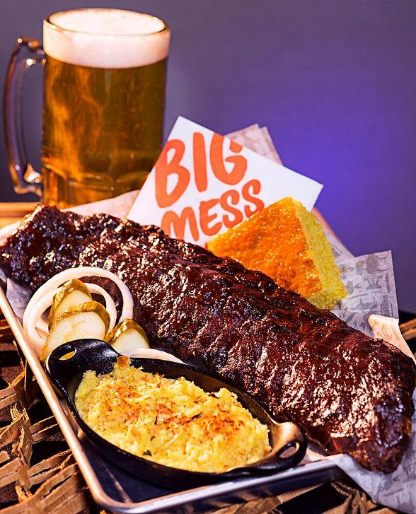 Big Mess Bar Bq A Genuine Smokehouse Barbeque Restaurant