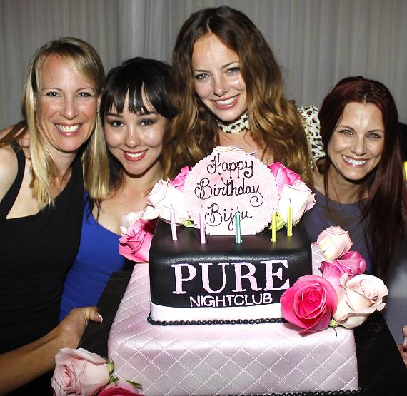 Bijou Phillips celebrates birthday at PURE