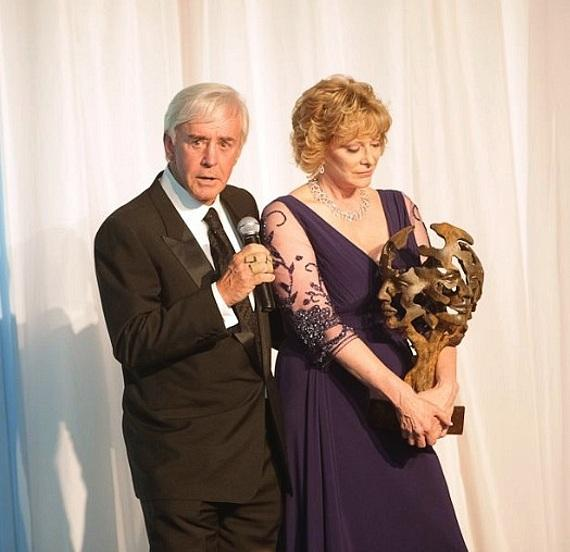 Honorees Bill and Susan Walters addressed the crowd at Opportunity Village's annual Camelot fundraiser on Nov. 15.