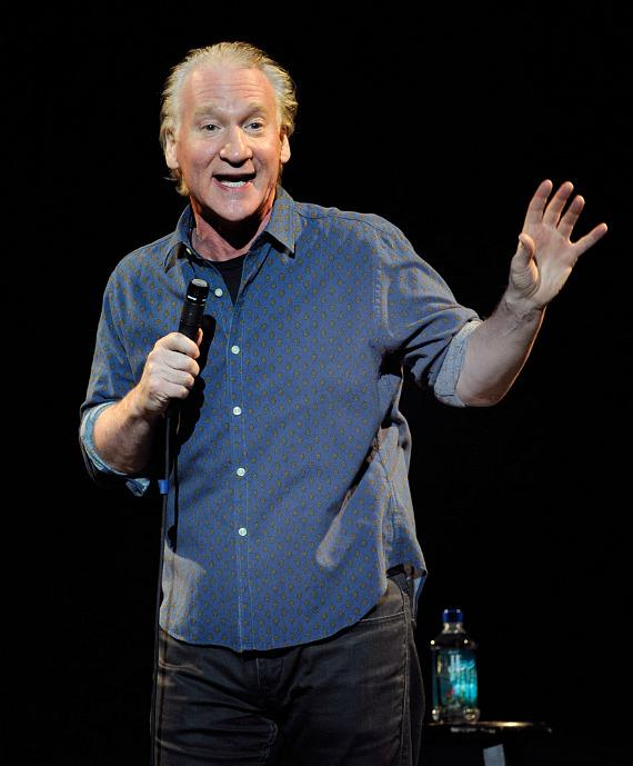 Bill Maher performs at the Pearl Concert Theater in The Palms