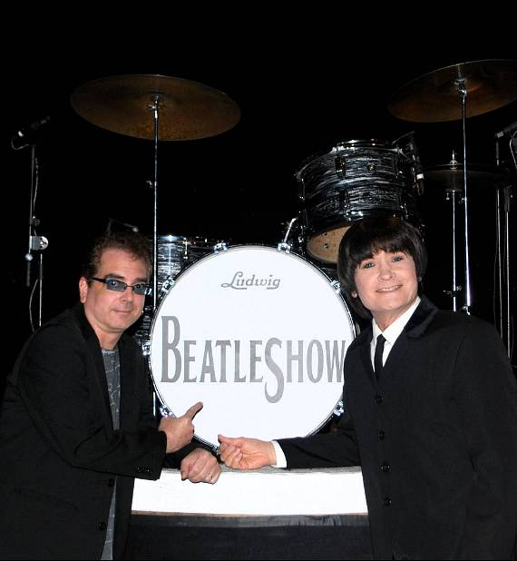 Billy Amendola with Bobby Taylor of BeatleShow!