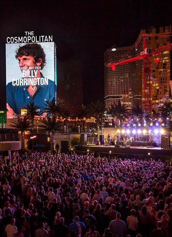 Billy Currington performs at The Cosmopolitan
