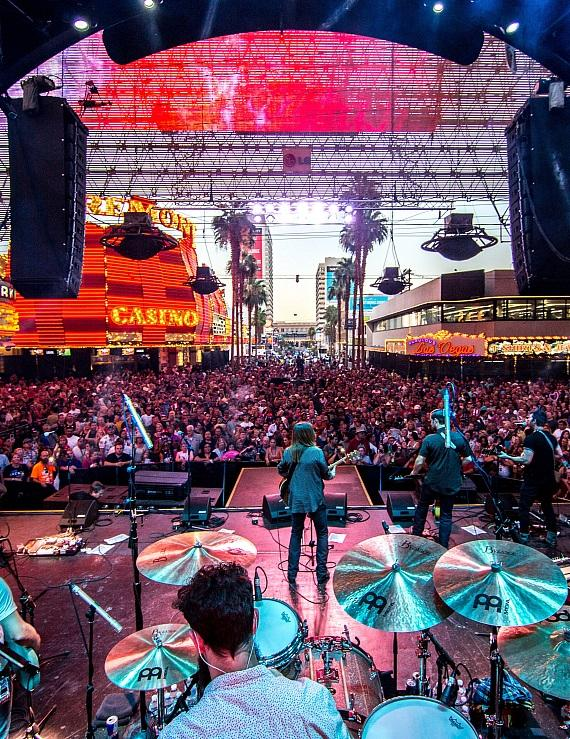 Country Music Icon Billy Ray Cyrus Delivers Booming Performance on Fremont Street Experience During Downtown Rocks, July 4