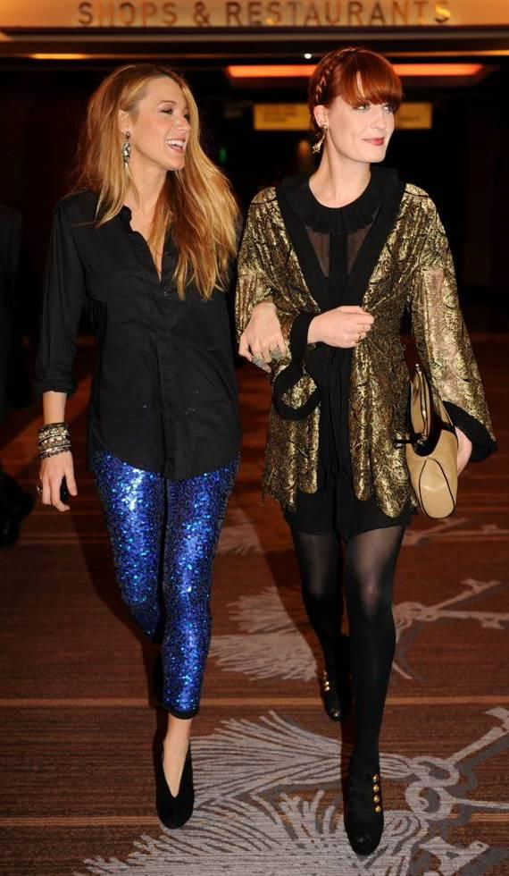 Blake Lively and Florence Welch