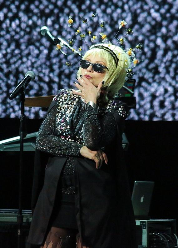 Blondie performs at The Pearl Concert Theater at the Palms Casino Resort in Las Vegas