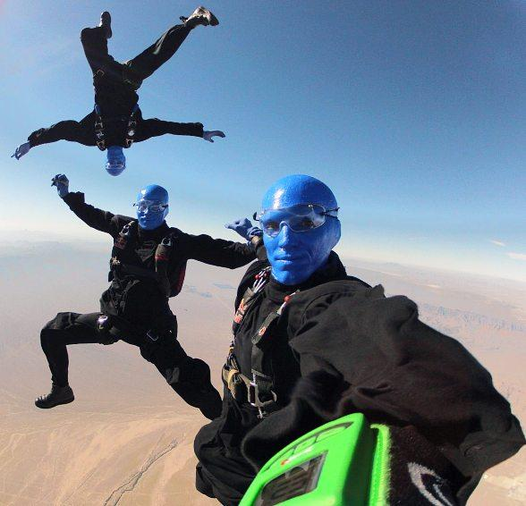 Blue Man Group skydives into new home at Monte Carlo Resort and Casino